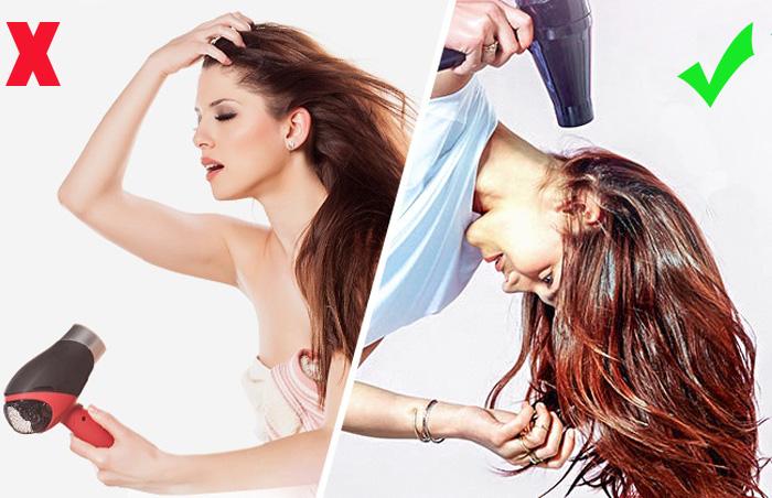 Секреты объемных волос