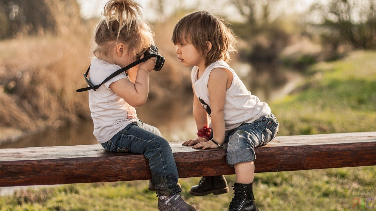 Фотографируем детей