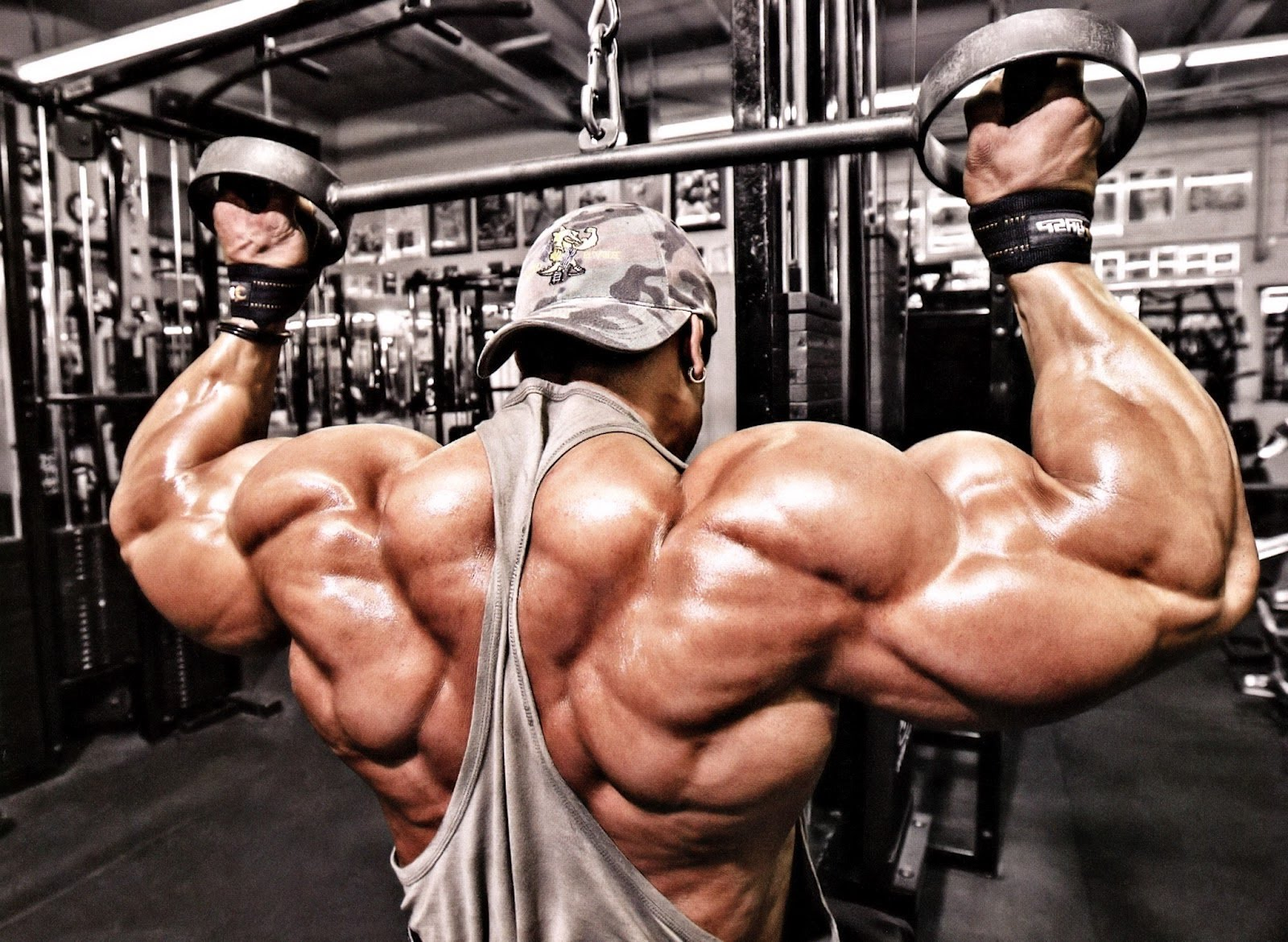 Как накачать огромные мышцы