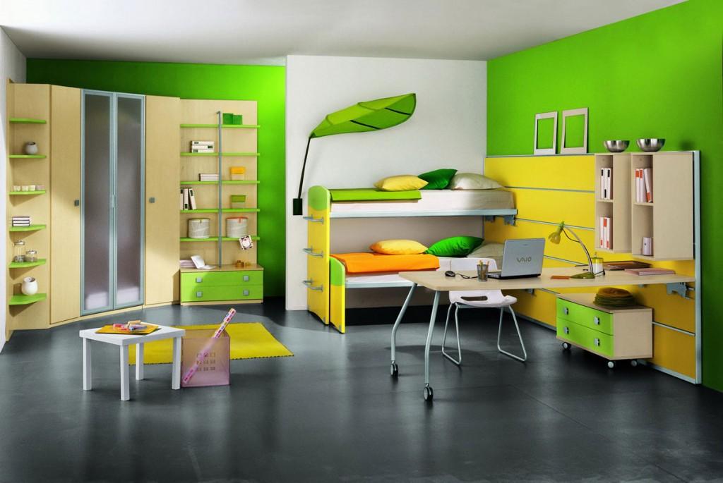 В детскую комнату мебель нужно выбирать тщательно