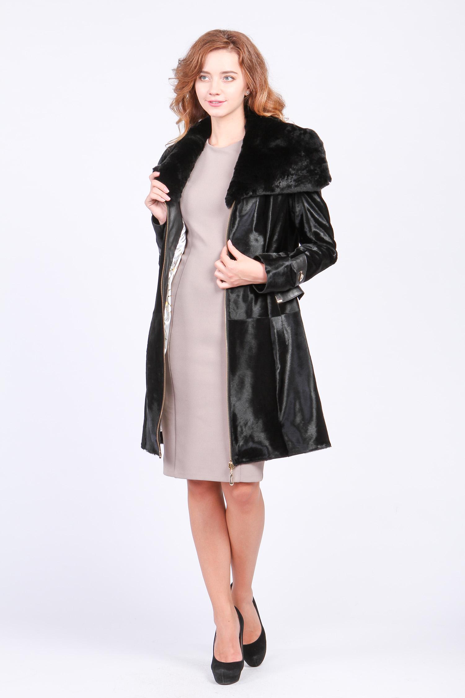 Кожаное пальто   как выбрать и с чем носить