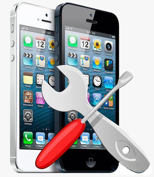 Основные поломки IPhone по вине владельца