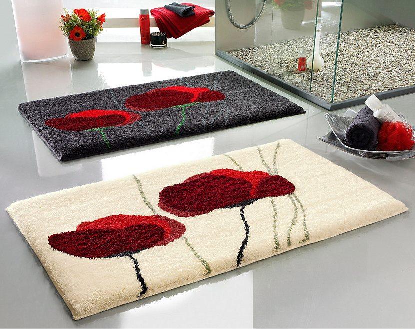 Виды ковриков для ванной комнаты