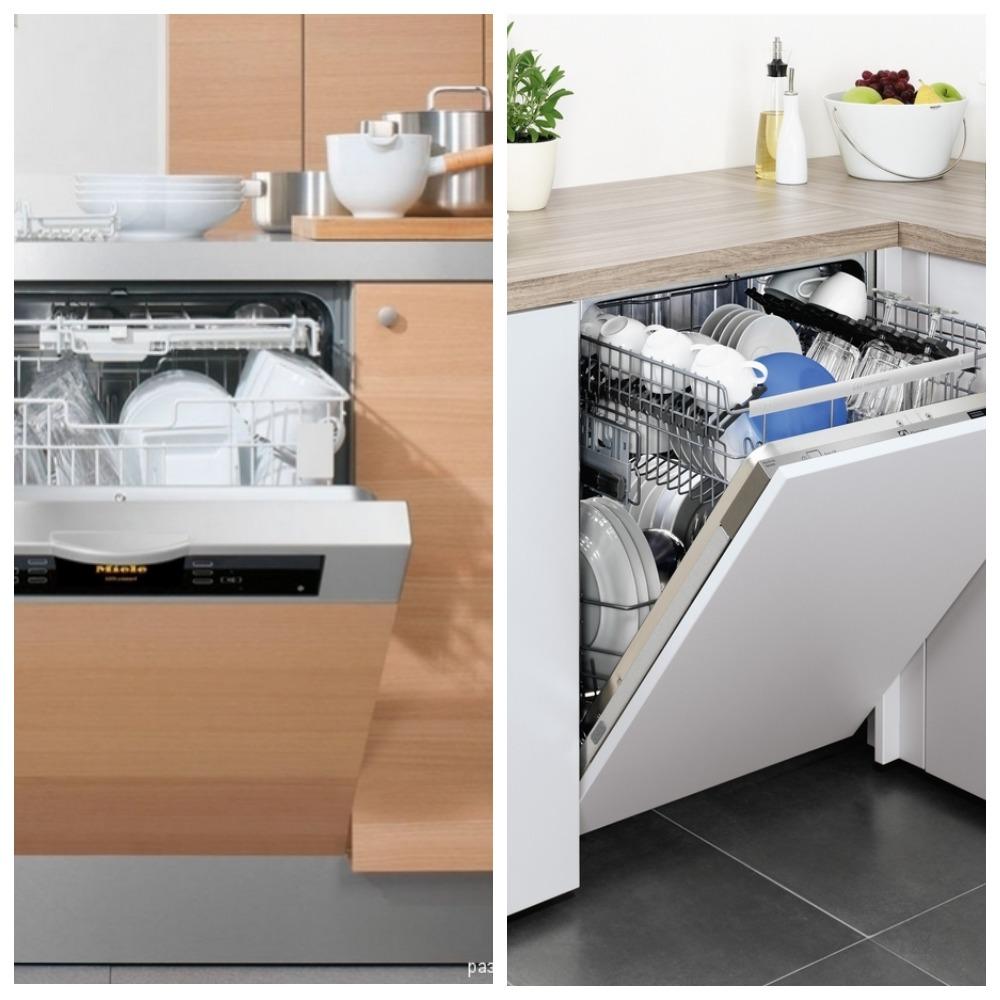 Встроенная посудомоечная машина – лёгкость уборки на кухне.